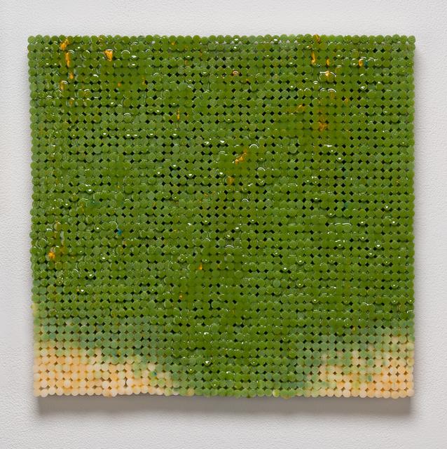 , 'Green Canvas,' 2018-2019, Elizabeth Leach Gallery