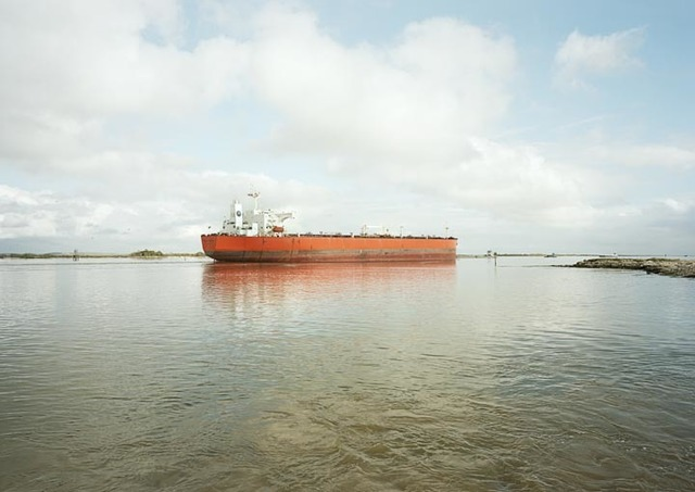 , 'Untitled (tanker, Eagle Stealth, Marshall Is.), Houston Ship Channel, Texas, 2015,' 2015, Yancey Richardson Gallery