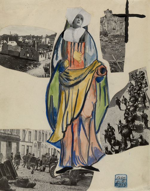 , 'Madonna of War (Nun),' 1923, Osborne Samuel