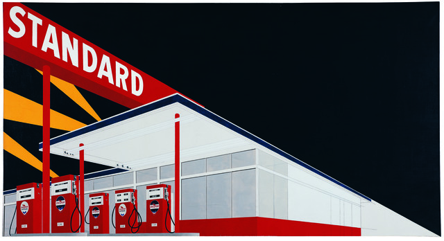 , 'Standard Station, Amarillo, Texas,' 1963, de Young Museum