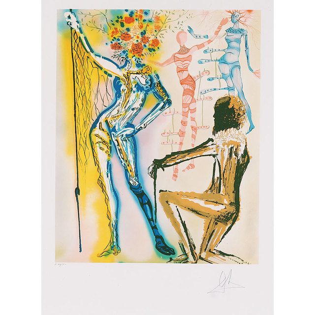 Salvador Dalí, 'The Fashion Designer The Couturier', 1980, Kings Wood Art