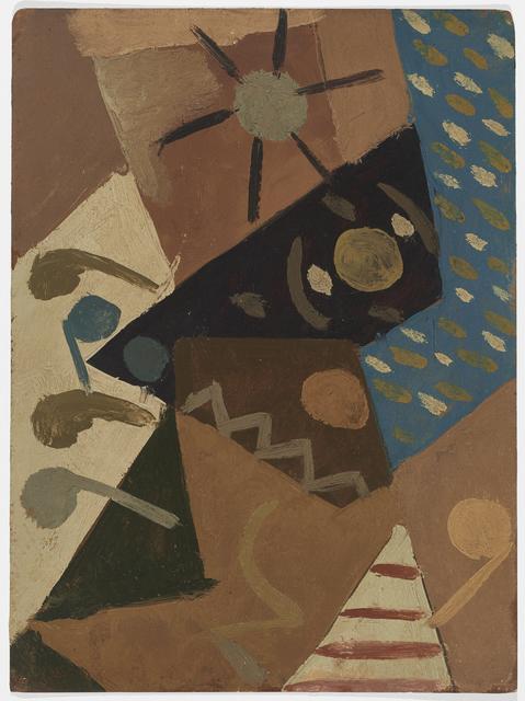 , 'Composición,' ca. 1943, Hutchinson Modern