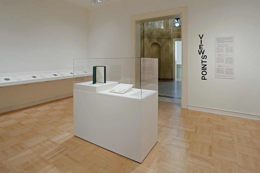 """""""Viewpoints: Elizabeth Murray and Anne Waldman: Her Story."""" Installation view, 2018. Henry Art Gallery, University of Washington, Seattle. Photo: Mark Woods."""