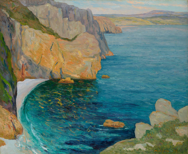 , 'Calme d'été, baie de Douarnenez,' 1899, Stoppenbach & Delestre