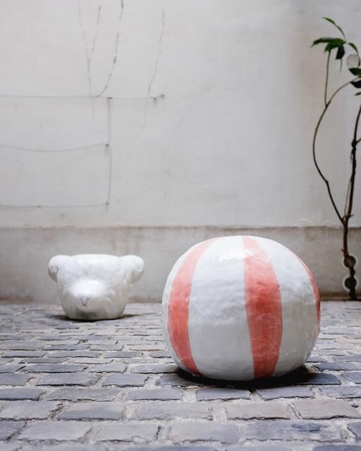 , 'Pink candy pouf,' 2018, Antonine Catzéflis