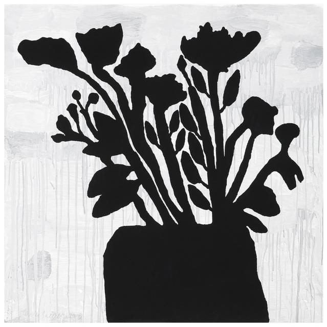 Donald Baechler, 'Flowers in Vase', 2009, Maune Contemporary