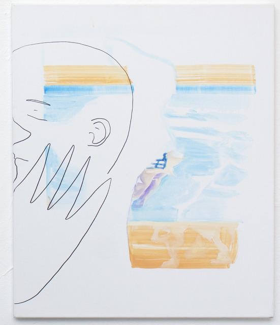 , 'Baiser piscine 2,' 2018, Bubenberg