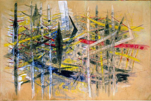 , 'Untitled (La Brousse),' 1958, Centre Pompidou