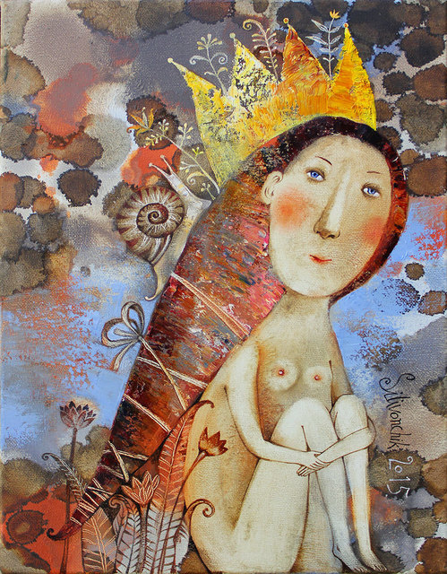 Anna Silivonchik, 'Royal Lillies ', 2015, Think + Feel Contemporary