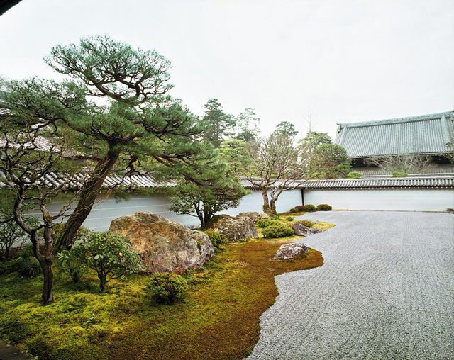 , 'Seiryoden 7 subtemple of Nanzen-ji East Kyoto 4 March 2009 (8:00–9:00),' 2009, Benrubi Gallery