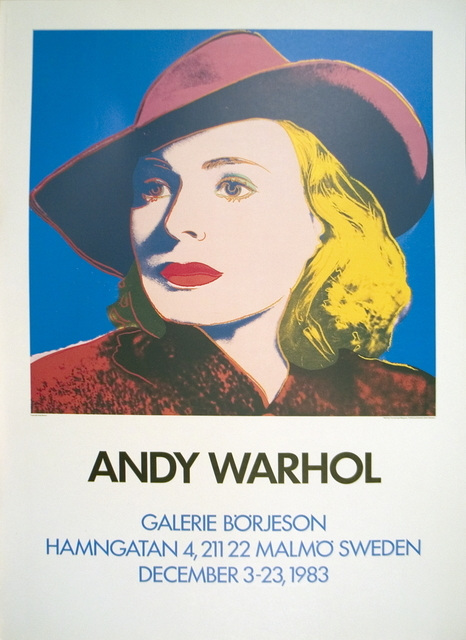 Andy Warhol, 'Ingrid with Hat', 1983, Ephemera or Merchandise, Offset Lithograph, ArtWise