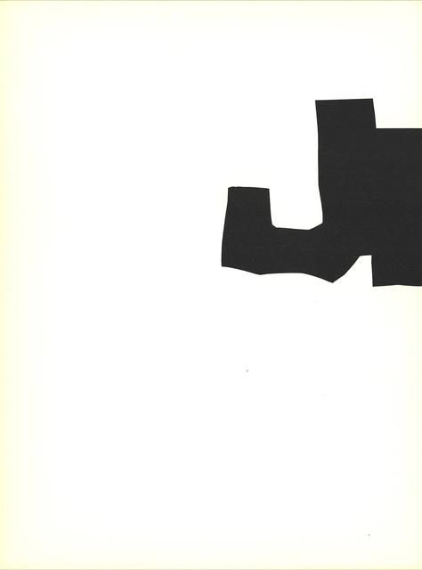 Eduardo Chillida, 'Segment I', 1970, Print, Stone Lithograph, ArtWise