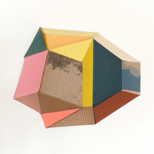 Conny Goelz Schmitt, 'Standstill', 2020, Drawing, Collage or other Work on Paper, Vintage book parts, Bernay Fine Art