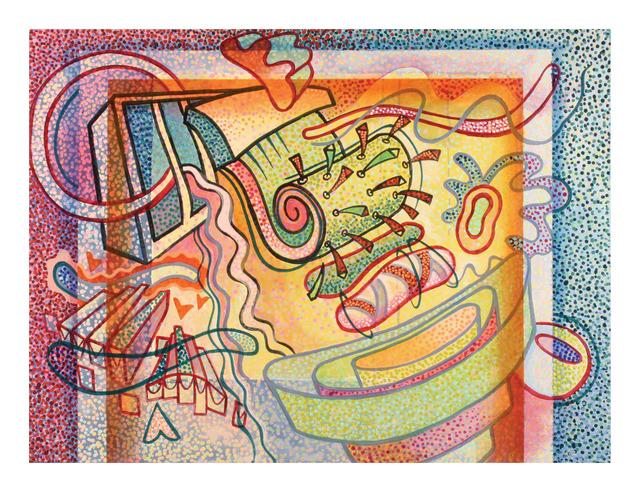 , 'Harmonica on Fire,' 2006, Walter Wickiser Gallery