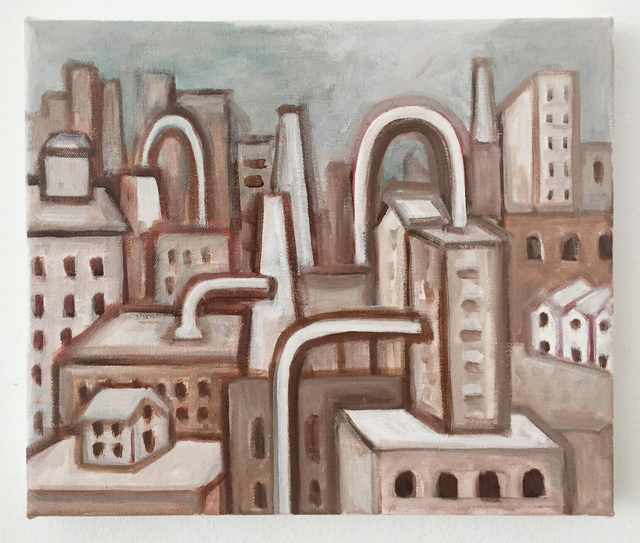 , 'Machine/City,' 2016, Charles Nodrum Gallery