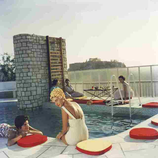 Slim Aarons, 'Penthouse Pool', 1961, IFAC Arts