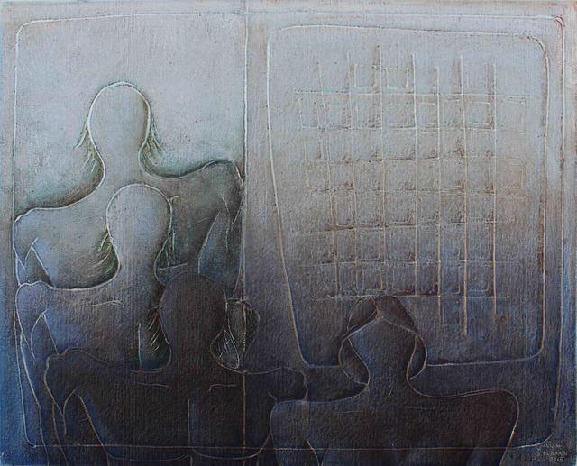 , 'Discourse of Silence 10,' 2015, al markhiya gallery