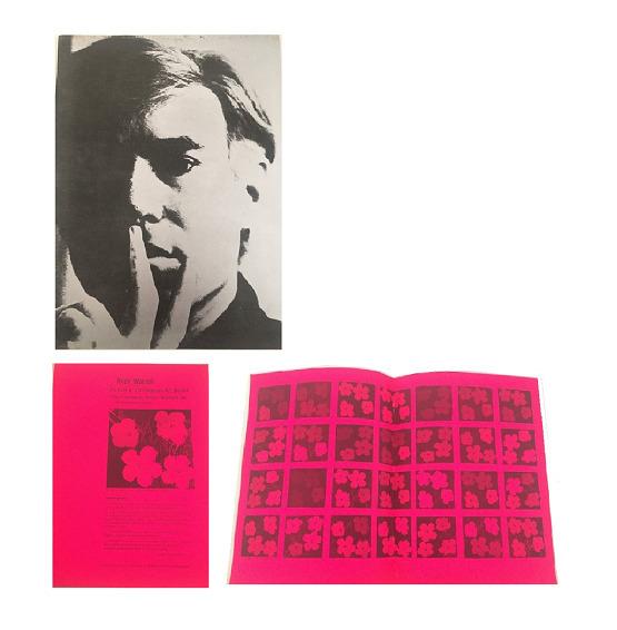 "Andy Warhol, '""Andy Warhol- Institute of Contemporary Art Boston"", Exhibition Catalogue', 1966, VINCE fine arts/ephemera"