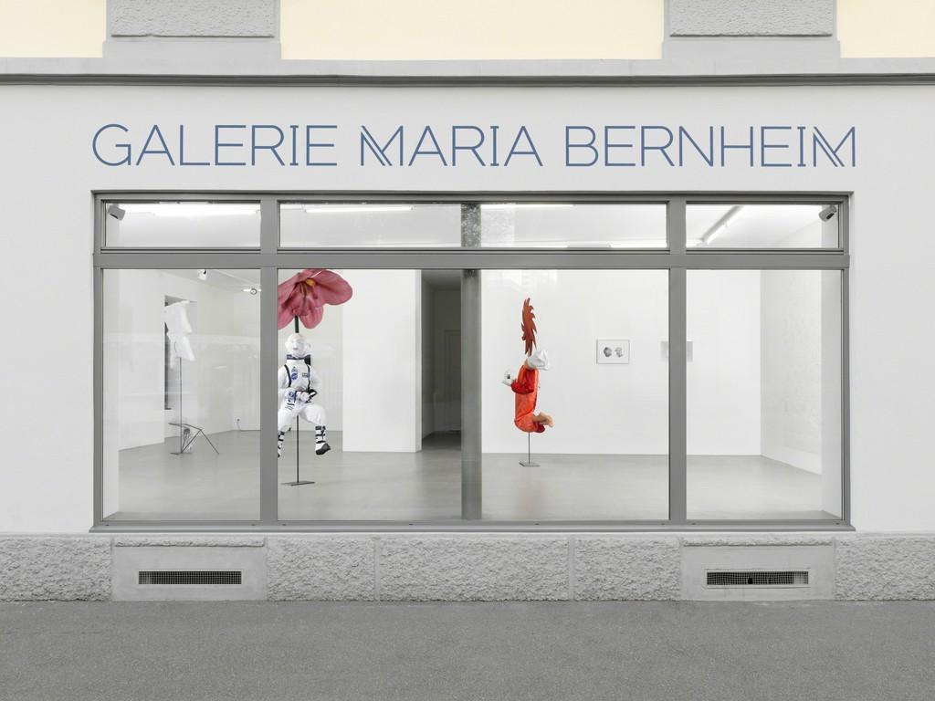 "Miriam Laura Leonardi, ""Orphan at the Cemetery,"" Galerie Maria Bernheim, 2016"
