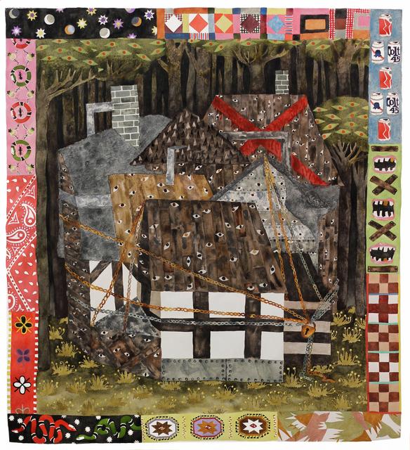 , 'Deadly Night Fortress,' 2018, Tillou Fine Art
