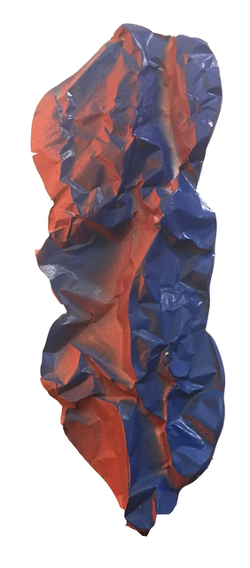 , 'Fragment (orange and blue),' 2019, Deep Space Gallery