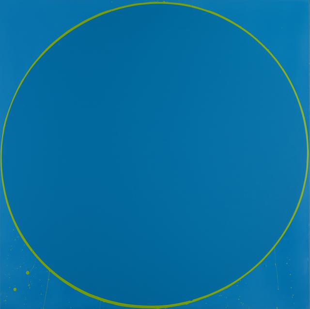 , 'Untitled Circle Painting: blue/green/blue,' 2003, Waddington Custot