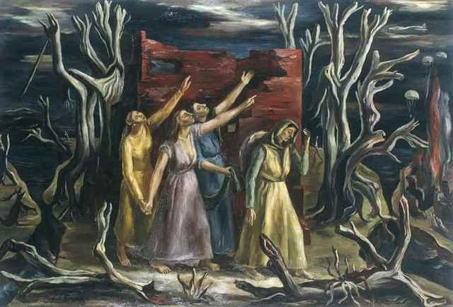 , 'Tinieblas,' 1943, MALBA