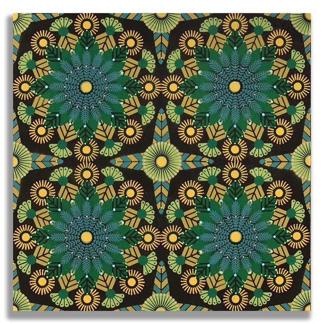 , 'Kaleidoscopic Nature 3,' 2018, Jonathan LeVine Projects
