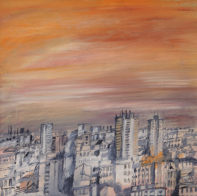 , '(City Skyline),' 1969, Charles Nodrum Gallery