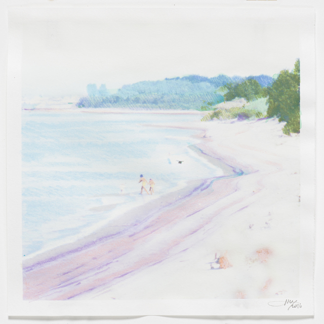 , 'Rose Cove,' 2016, Reynolds Gallery
