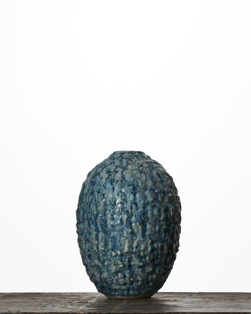 Morten Løbner Espersen, 'Blue Moonjar #1888', 2016, Sculpture, Stoneware, Jason Jacques Gallery