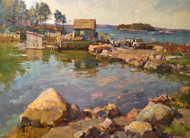 , 'Allen Cove,' 2016, Grenning Gallery