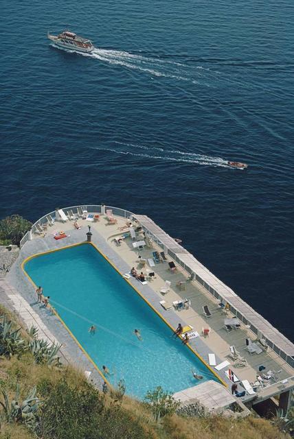 , 'Belvedere Pool, Amalfi, Italy,' 1984, IFAC Arts