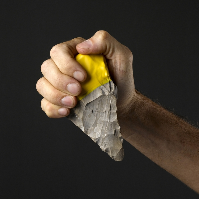 Ami Drach and Dov Ganchrow, 'Handaxe #5 and Blade #9 from the BC–AD Contemporary Flint Tool Design series', 2011, Cooper Hewitt, Smithsonian Design Museum