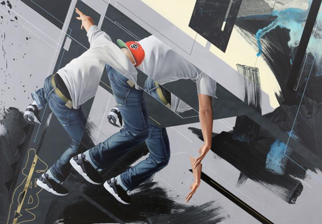 James Bullough, 'Step Into', 2014, On The Wall