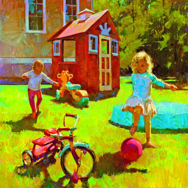 , 'Dooryard Toys,' , Dowling Walsh