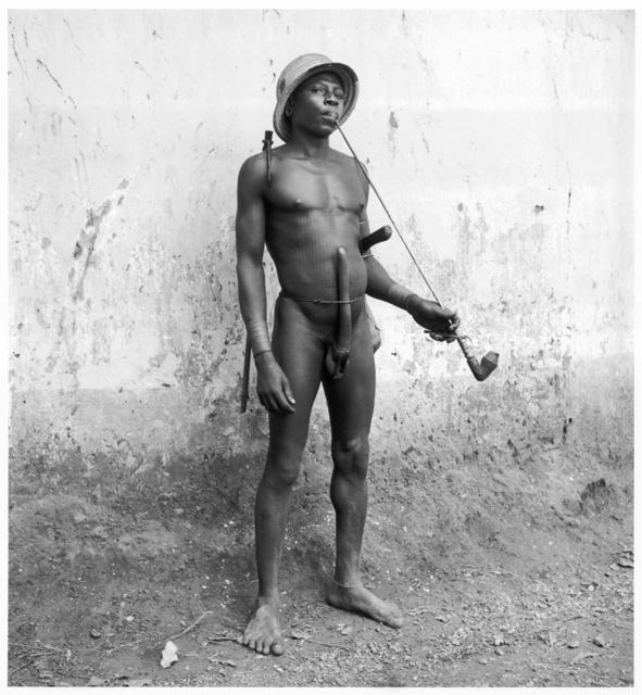 Hector Acebes, 'Unidentified Man, Benin', 1953, Photography, Gelatin silver print, G. Gibson Gallery