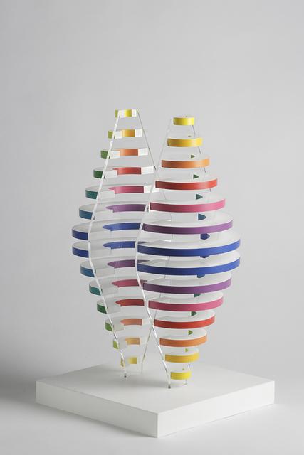 Martha Boto, '2 Demi cones avec anneaux de couleurs', 1975, Kunzt Gallery