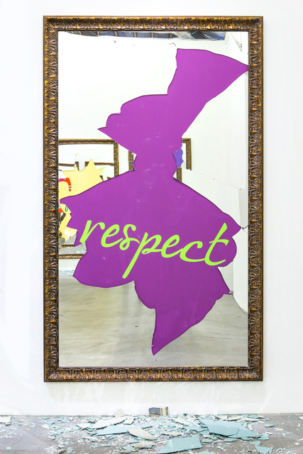 , 'Respect (French),' 2016, Tang Contemporary Art