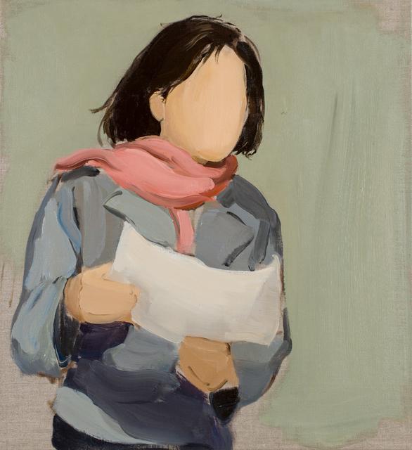 , 'Pink Scarf,' 2015, Alon Segev Gallery