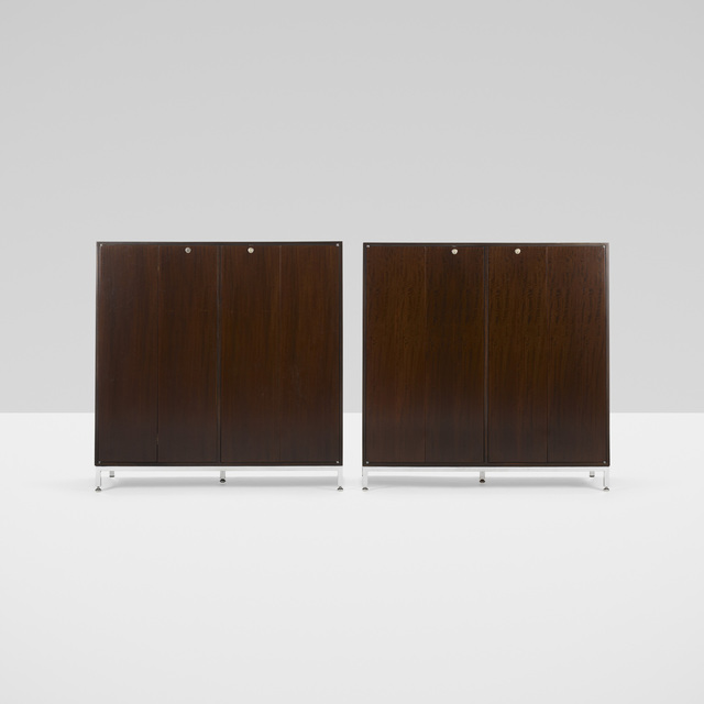 Jules Wabbes, 'cabinets, pair', c. 1965, Wright