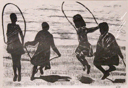 , 'Children Jumping Rope,' , The Loft Fine Art