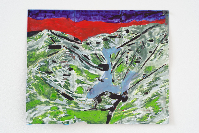 , 'Alpine (Purple Sky),' 2013, Fleisher/Ollman