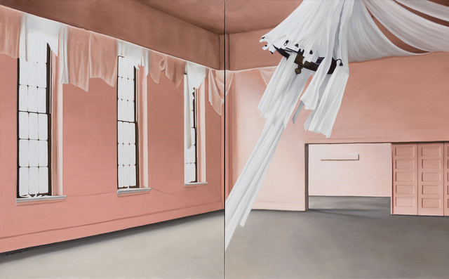 , '28 (a White Chandelier),' 2017, Gallery BK