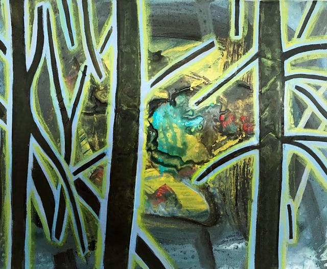 , 'Scrambled Egg Forest,' 2018, CRUSHCURATORIAL