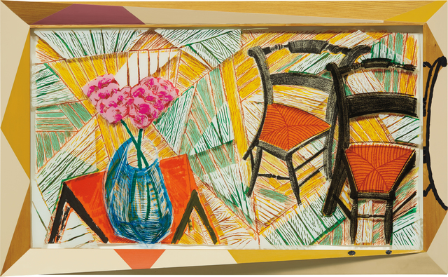 David Hockney, 'Walking Past Two Chairs, from Moving Focus Series', 1984-86, Phillips