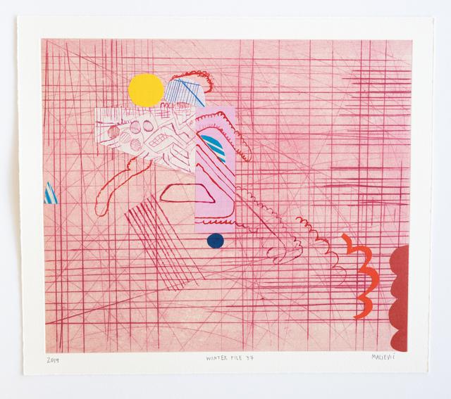 , 'Winter File 37,' 2019, David Krut Projects