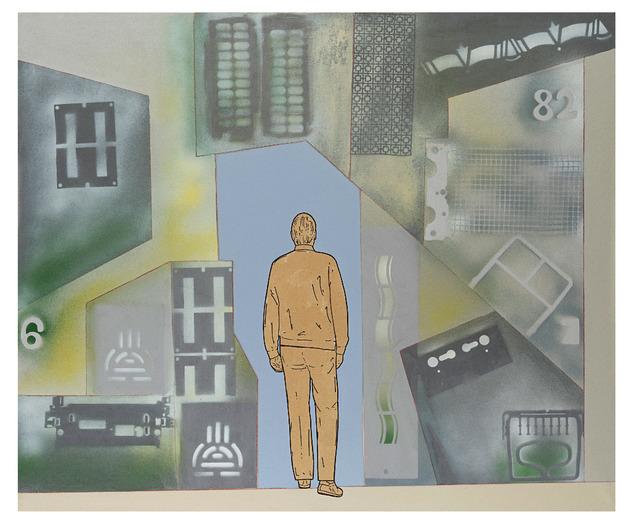 Renato Mambor, 'Passare attraverso', 2010, Glenda Cinquegrana Art Consulting