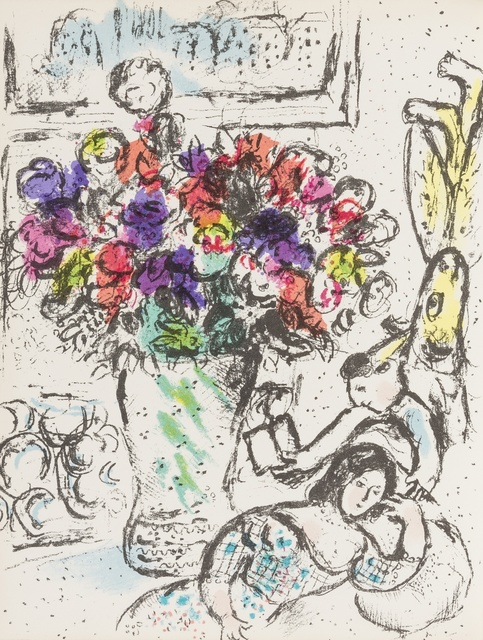 Marc Chagall, 'Chagall Lithographe I-VI ', 1960-1986, Forum Auctions