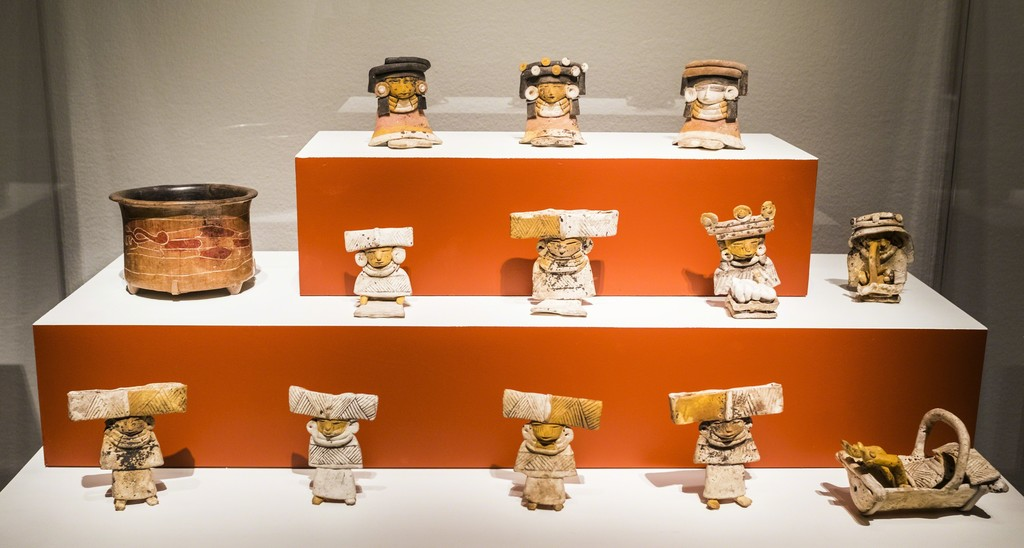 "Installation of ""Teotihuacan: City of Water, City of Fire"" at the de Young museum, through February 11, 2018"
